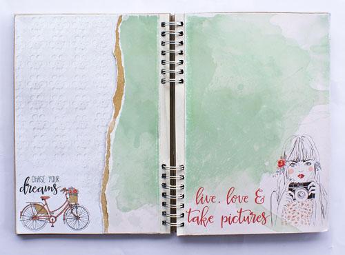 Boho Dreams journal 1