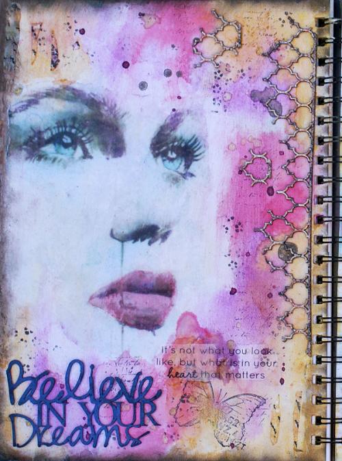 ID Believe in your dreams Journal
